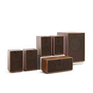 Retrospective 1979-S 5.1 Sound System Walnut incl. Cover Black-Brown Walnut | Black