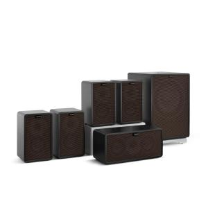 Retrospective 1979-S 5.1 Sound System Black incl. Cover Black-Brown Black | Black