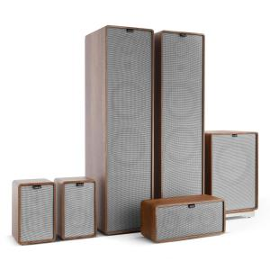 Retrospective 1977 MKII 5.1 Sound System Walnut incl. Cover Grey Walnut | Grey