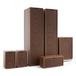 Retrospective 1977 MKII 5.1 Sound System Walnut incl. Cover Brown Walnut | Brown