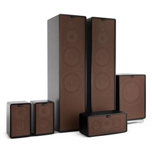 Retrospective 1977 MKII 5.1 Sound System Black incl. Cover Brown Black | Brown