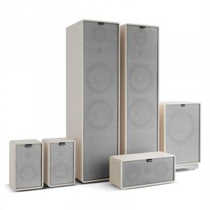 Retrospective 1977 MKII 5.1 Sound System White incl. Cover Grey White | Grey