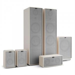 Retrospective 1977 MKII 5.1 Sistema de sonido blanco con cubierta gris Blanco | Gris