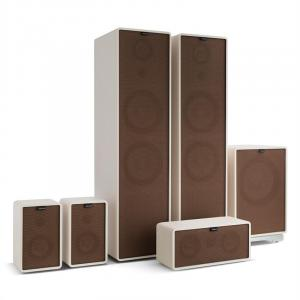 Retrospective 1977 MKII 5.1 Sound System White incl. Cover Brown White | Brown