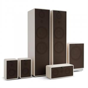 Retrospective 1977 MKII 5.1 Sound System White incl. Cover Black-Brown White | Black