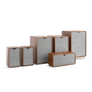 Retrospective 1978 MKII 5.1 Sound System Walnut incl. Cover Grey Walnut | Grey