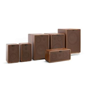 Retrospective 1978 MKII 5.1 Sound System Walnut incl. Cover Brown Walnut | Brown