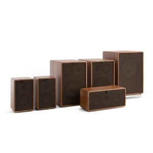 Retrospective 1978 MKII 5.1 Sound System Walnut incl. Cover Black-Brown Walnut | Black