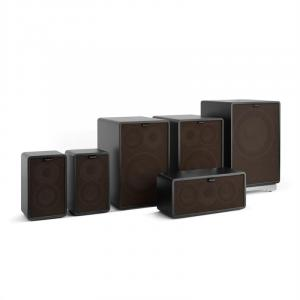 Retrospective 1978 MKII 5.1 Sound System Black incl. Cover Black-Brown Black | Black