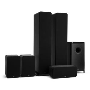 Octavox 751 MKII – 5.1 Soundsystem svart Svart