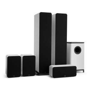 Octavox 751 MKII – 5.1 äänijärjestelmä valkoinen valkoinen
