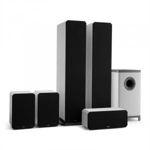 Octavox 751 MKII – 5.1 Soundsystem vit Vit