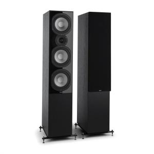 Reference 801 Three-way Standing Speakers Black Including Cover Black | Black