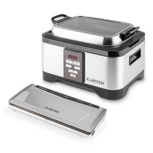 Tastemaker Sous-vide Kooktoestel Slow Cooker 6l 550 W Roestvrij staal zilver
