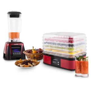 Herakles 8G Valle di Frutta Zestaw: mikser i suszarka do owoców i warzyw Komponenty niezawierające bisfenolu (BPA)