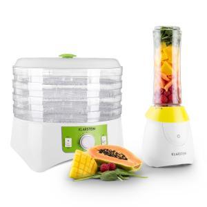 Paradise Zestaw: minimikser + suszarka do owoców i warzyw bez bisfenolu (BPA)