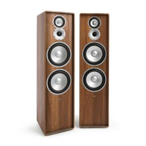 RETROSPECTIVE 1977 MKII - Three-Way Standing Speaker Pair walnut Walnut | No Cover
