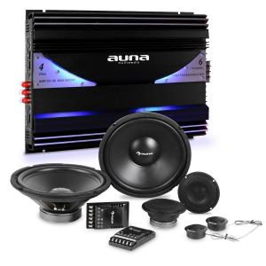 CS-Comp-12 Car-HiFi-Set de altavoces -terminal de 6 canales 570 RMS