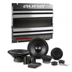 CS-Comp-8 Car HiFi Set 2-Channel Power Amplifier Speaker Set & 2-Channel Power Amplifier