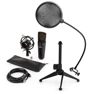MIC-920B USB Microphone Set V2 Condenser Microphone Microphone Tripod POP Protection