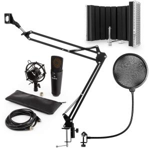 MIC-920B USB kit micro V5 à condensateur perche filtres anti bruit anti pop