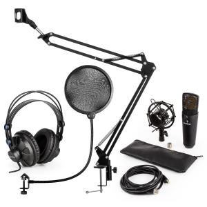 MIC-920B USB kit micro V4 casque micro perchette filtre antipop