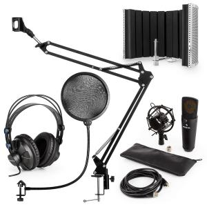 MIC-920B USB kit micro V5 casque micro perchette filtre anti pop et bruit