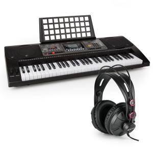 Etude 450 USB Lern-Keyboard mit Kopfhörer 61 Tasten USB-MIDI-Player LCD