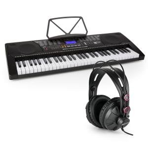 Etude 225 USB Learning Keyboard with Headphones 61 Keys USB LCD Display