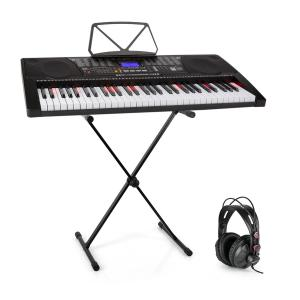 Etude 225 USB Teclado de aprendizaje con auriculares y soporte de teclado