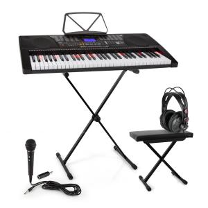 Etude 225 USB Learning Keyboard Set Headphones, Keyboard Stand & Bench