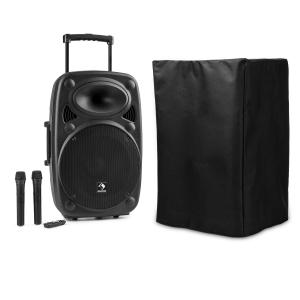 Streetstar 15 Mobile sono housse de protection subwoofer Trolley BT USB