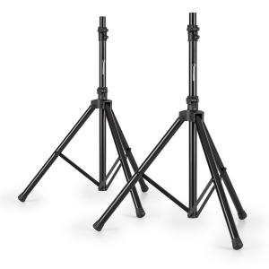 Pair of Speaker Stands for PA Boxes 25kg Black