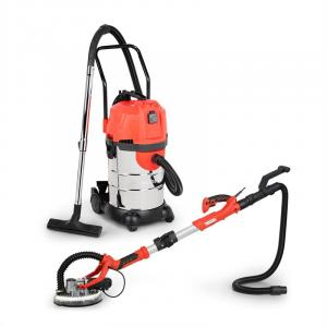 Drywall Sander & Industrial Vacuum Cleaner Set | 2-piece Set