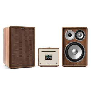 Unison Retrospective 1978 MKII Edition - Stereo Amplifier Boxes + Cover Walnut | Brown