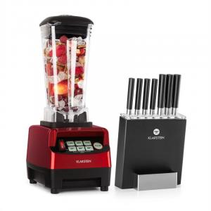 Herakles 5G Kitano Power Blender red Knife Set 1500W BPA-free 2l / 7 Knives