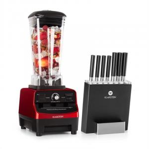 Herakles 3G Kitano Power Blender red Knife Set 1500W BPA-free 2l / 7 Knives