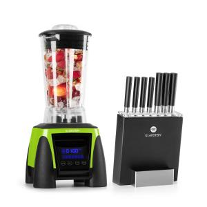 Herakles 8G Kitano power blender & messenset 1800W zonder BPA 2L/7 messen