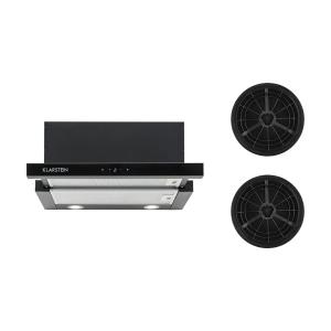 Vinea Cooker Extractor Hood Recirculation Set Black