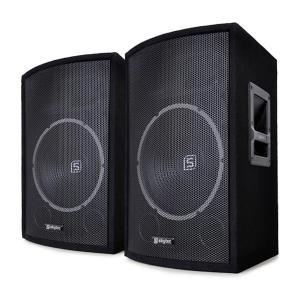 """Skytec SL12 passief luidsprekerpaar 12"""" woofer 200W / 300W max. 2-weg bassreflex 12"""" (30 cm) - luidsprekerset"""