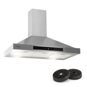 Zelda 90 Okap kuchenny zestaw do zmiany trybu pracy na tryb recyrkulacji 620 m³/h filtr z węglem aktywnym
