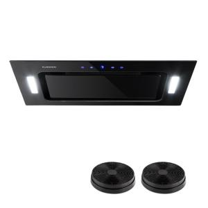 HEKTOR Cooker Extractor Hood Black