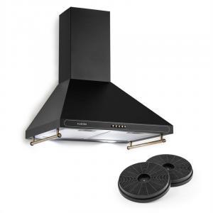 Victoria liesituuletin kiertoilmasetti 600m³/h 2 LED-lamput musta musta