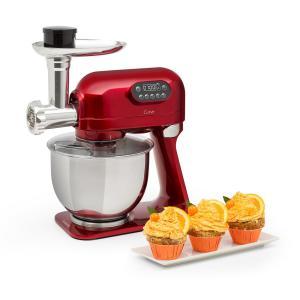 Curve Plus Set Robot da Cucina | 5l | Tritacarne 4 in 1 | rosso rosso