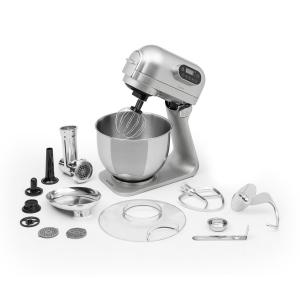 Curve Plus Food Processor Set | 5l | 4-in-1 Meat Grinder | Silver Silver