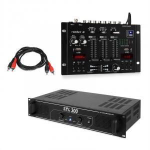 SPL300 PA-Verstärker Set mit Resident DJ 22 BT Mischpult