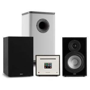Unison Reference 802 Edition Stereoanlage Verstärker Boxen schwarz