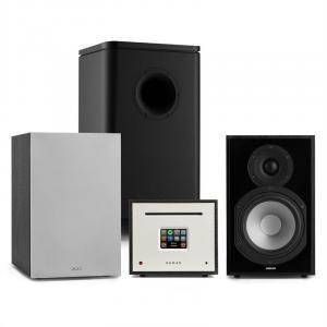 Unison Reference 802 Edition – Stereoanlage Verstärker Boxen schwarz/grau