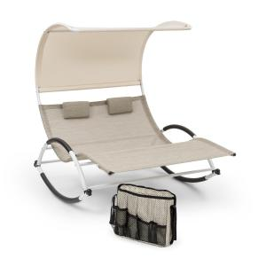 Brentwood Swinging Lounger Set + Pocket Wave Shape ComfortMesh