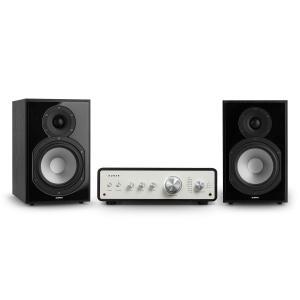 Drive 802 Set estéreo Amplificador estéreo + Altavoces de estantería Negro
